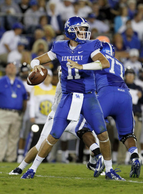 Kentucky QB Maxwell Smith