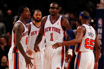 That's the confident look Knicks fans want to see on Stoudemire.