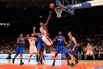 The Orlando Magic are definitely a team the Knicks can supplant in 2012.