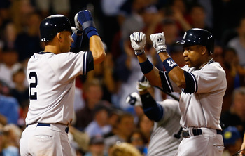 Curtis Granderson rocked two homers in Boston last night.