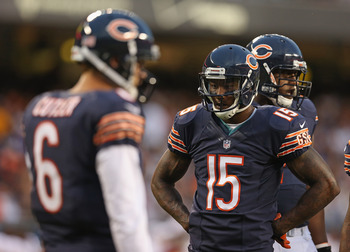Cutler clearly has a main target, his name is Brandon Marshall