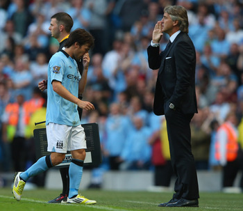 Roberto Mancini needs more magic from Silva.