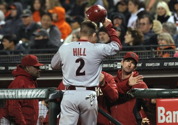 Aaron Hill has revived a once promising career with the Arizona Diamondbacks.