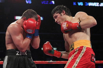 Chavez will enter the ring on Saturday 11 years the junior of Sergio Martinez.