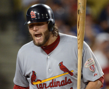 Lance Lynn hasn't lost any fire despite a poor second-half.