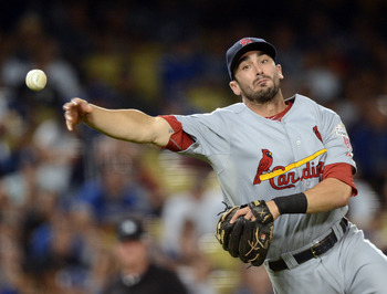 Matt Carpenter has been too valuable for utility work.