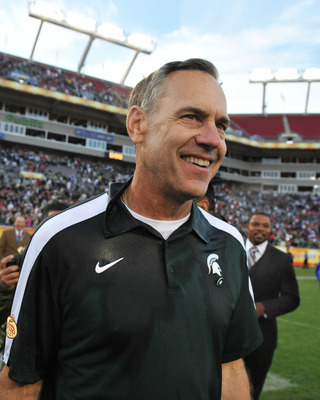 Mark Dantonio's Michigan State Spartans have won four straight against Michigan
