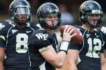 Can QB Tanner Price upset Wake's second ACC opponent?