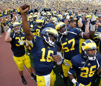 "Denard Robinson is ""Mr. Everything"" for Michigan."