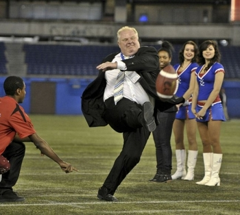 Mayor Rob Ford's Finest Moment. Seriously.