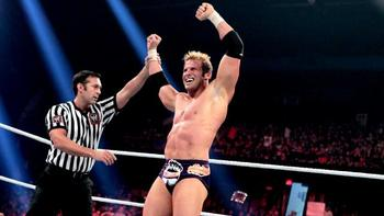 Zack Ryder emerges victorious.