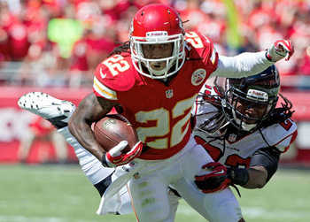 The Chiefs have worked McCluster in as a regular weapon.