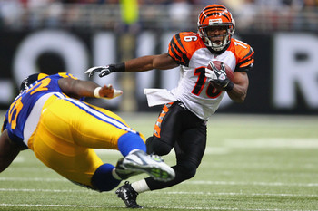 Andrew Hawkins could benefit from playing opposite A.J. Green.