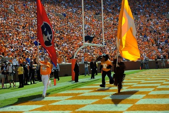 Tennessee end zone