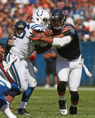 The Bears defensive line embarrassed the Colts O-line.