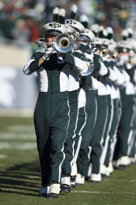 Michigan State marching band