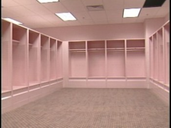 Iowa's pink locker room