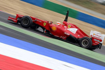 Jules Bianchi in the Ferrari F2012 - courtesy of autosport.com