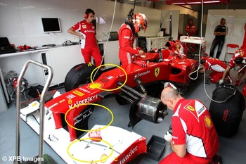 Updates on the Ferrari - image courtesy of XPB Images