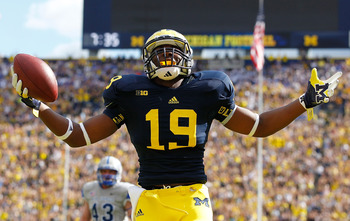 Michigan tight end Devin Funchess.