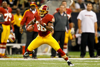 Pierre Garcon is a game-time decision on Sunday.