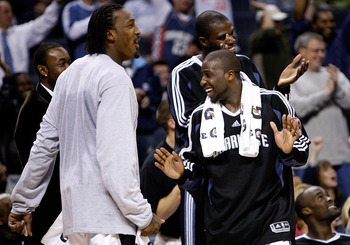 'Boy, this sure beats actually playing for the Bobcats.'