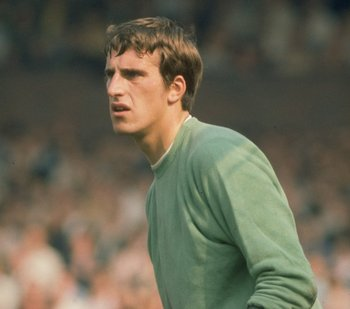 Undated:  Portrait of Liverpool Goalkeeper Ray Clemence during a match. \ Mandatory Credit: Allsport UK /Allsport