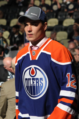 Nail Yakupov of the Edmonton Oilers.