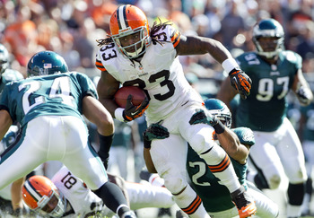 With only two NFL games under his belt, Richardson is the Browns' key piece.