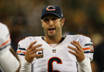 For better or worse, Cutler carries the Bears' franchise on his shoulders.