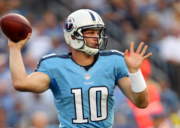 Chris Johnson is talented, but Jake Locker is the future of the Titans.