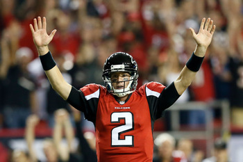 Matt Ryan is armed with weapons, and Atlanta is on the upswing.