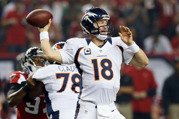 Manning is 36, but he's still the centerpiece of the Broncos' franchise.
