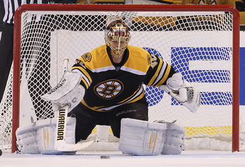 Rask hopes to put a stranglehold on the Bruins' starting job.