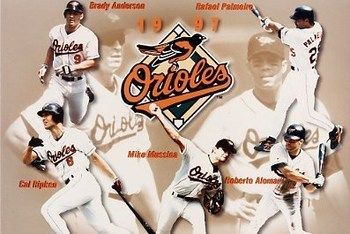 Orioles 1997 Team Composite Photo Credit: BestSportsPhotos.com