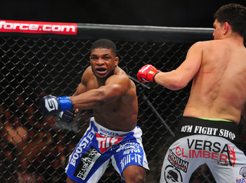 Paul Daley was cut from the UFC after sucker-punching Josh Koscheck after a fight ended. He, as many other UFC rejects have, signed with Strikeforce shortly after.