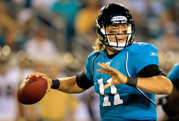 Blaine Gabbert has the pedigree and the weapons to cost you.