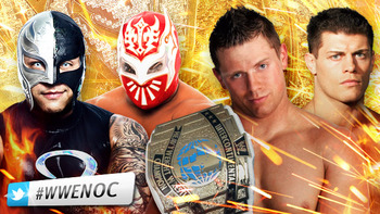 Intercontinental Champion The Miz vs. Rey Mysterio vs. Sin Cara vs. Cody Rhodes