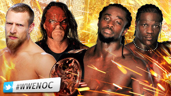 WWE Tag Team Champions Kofi Kingston and R-Truth vs. Daniel Bryan and Kane