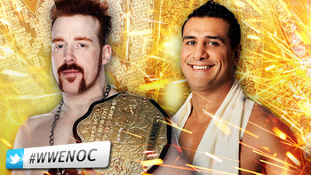 World Heavyweight Champion Sheamus vs. Alberto Del Rio