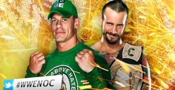 WWE Champion CM Punk vs. John Cena