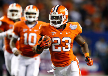 Back Andre Ellington (23) has filled Clemson's offensive void.