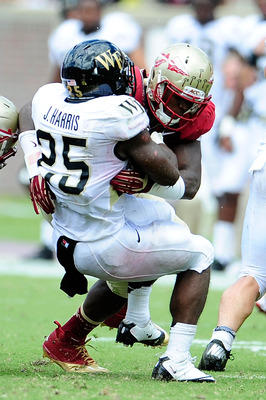 Josh Harris was made ineffective by the Florida State defense.