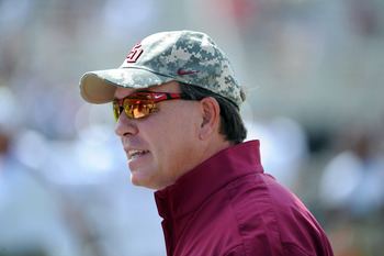Jimbo Fisher wants more out of his offensive line.