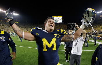 Michigan tackle Taylor Lewan