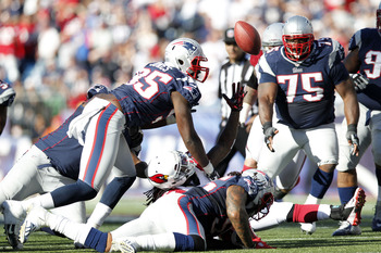 Brandon Spikes' forced fumble
