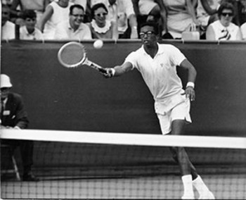 Arthur Ashe Photo: Virginia Sports Hall of Fame