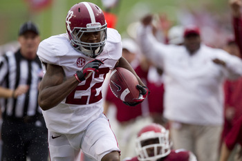 Jones has been one of the leaders of Alabama's new and improved receiver unit.