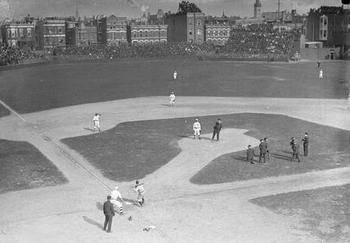 The Cubs were a powerhouse at the West Side Grounds, their home before Wrigley.