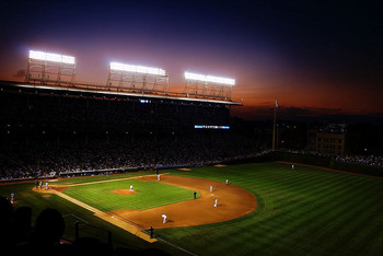 Though it's hard to tell at times, night baseball has made the Cubs better.